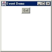 ออปเจ็คของคลาสประเภท Event Handler ในภาษาjava