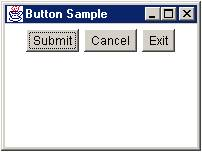 ตัวอย่างโปรแกรมแสดง FlowLayout ในภาษาjava
